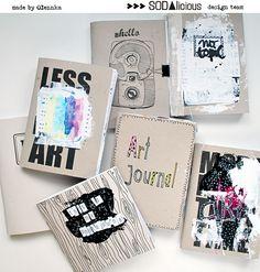 SODAlicious Art Journaling, Diy Art, Journals, Scrapbook, Cool Stuff, Design, Art Diary, Scrapbooking, Diy Artwork