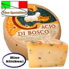Mit edlen Waldtrüffeln verfeinert. Hier klicken: http://blogde.rohinie.com/2013/02/kaese/ #Italien #Kaese #Schafskaese #Bueffelkaese #Ziegenkaese #Kaesespezialitaeten