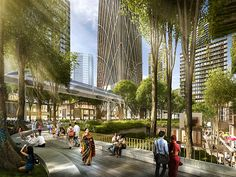 SOM wins competition to design a new master plan for the Colombo Port City in Sri Lanka