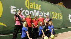 Artistes pour le Doha ExxonMobil tennis open | Evénementiel | Agence artistique | Agence de spectacle
