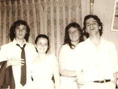 Ricardo Celio Amaral e Josênia Cordeiro, Eu e Elvira. Festa anos sessenta.