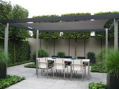 Moderne strakke design tuin in Houten - Van Jaarsveld Tuinen