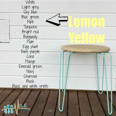 Lemon Yellow goes with...