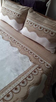 Bed Covers, Bed Spreads, Bed Sheets, Diy And Crafts, Embroidery, Blanket, Bedroom, Crochet, White Bedspreads