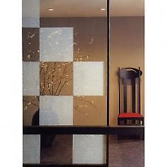 Pearl window film contemporary window treatments neat for Glass block alternatives