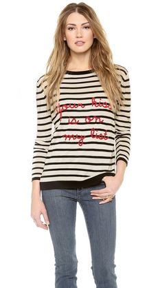 Banjo & Matilda Your Kiss Crew Neck Sweater