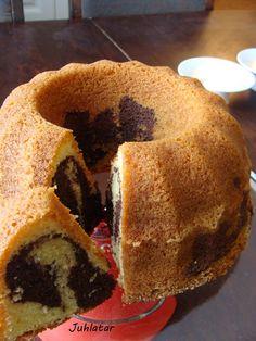"Tiikerikakku - Finnish ""tiger cake"" (marble cake)."