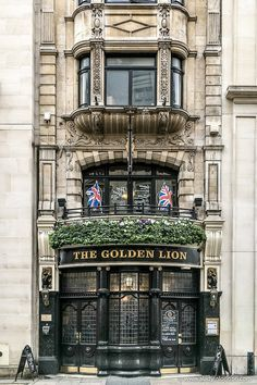 The Golden Lion pub in St James's, London is one of the most attractive historic pubs in the city. #pub #london #england