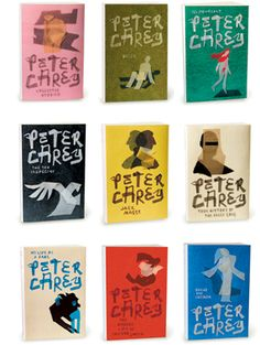 Peter Carey Series-quite extensive I get real involved when a novel is part of at least a trilogy!