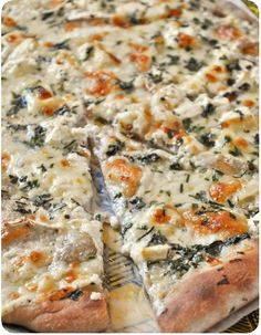 Pizza bianca fromage
