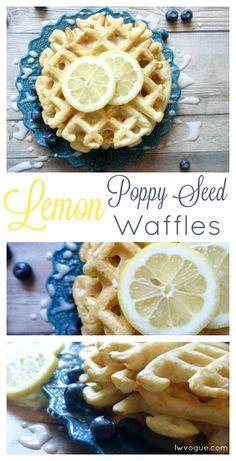 Homemade Lemon Poppy