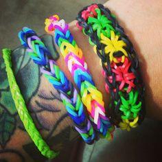 rubberband braclets