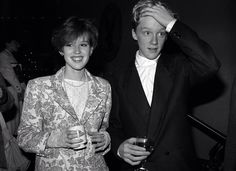 """Molly Ringwald & Anthony Michael Hall dated after """"The Breakfast Club"""" finished production! Emilio Estevez, Anthony Michael Hall, Molly Ringwald, Brian Johnson, Famous Movie Quotes, Queen Fashion, The Breakfast Club, Celebrity Crush, Pretty People"""