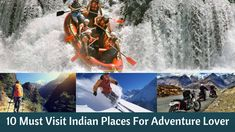 Possible adventure activities include trekking, yak safaris from village to village, tracking wildlife, mountain biking, and white water rafting Here are the 10 Must Visit Indian Places For Every Adventure Lover Traveler
