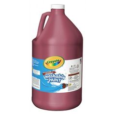 Crayola Washable Paint combines vibrant color with easy washability. Children can express themselves freely because Crayola Washable Paint cleans up with just soap and water. Crayola Pens, Gallon Of Paint, Washable Paint, Painted Pumpkins, Made In America, Slime, Vibrant Colors, Frozen, Painting