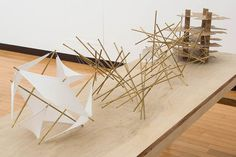 Concept Models Architecture, Architecture Drawings, Architecture Design, Structural Model, Conceptual Sketches, Materials And Structures, Temporary Architecture, Sound Installation, Bamboo Structure
