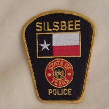 Silsbee Police Dept Patch - Texas