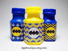 Batman Deluxe Bubbles Party Favors