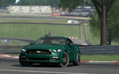 Ford Mustang GT 2015 at Circuit Brands Hatch
