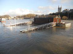 Maine et les inondations hivernales : du classique en Anjou vers décembre-janvier-février (ici décembre 2012).