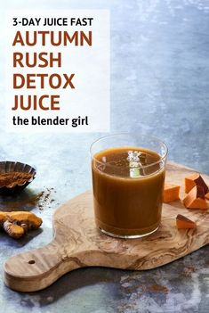 This anti-inflammatory carrot, turmeric, sweet potato juice from The Decadent Detox Juice Cleanse boosts immunity and hydrates on a cellular level. Juice Fast Recipes, Detox Juice Recipes, Best Smoothie Recipes, Good Smoothies, 3 Day Juice Cleanse, Juice Diet, Sweet Potato Juice, Delicious Vegan Recipes, Healthy Recipes