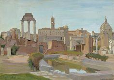 Finnish National Gallery - Art Collections - Forum Romanum