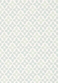 Powder Room/Nursery Bath NOVIA, Aqua, T1858, Collection Geometric Resource from Thibaut