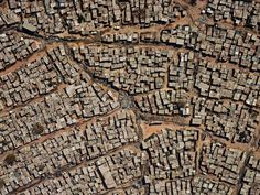 Aerial view of Diepsloot, South Africa, 2013