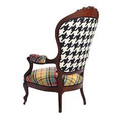 Victorian Mahogany Armchair available on 1st Dibs