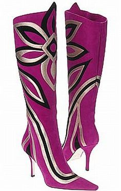 ★ Emilio Pucci ★  - These are the ones Rebecca fought over in Confessions of a Shopaholic :)