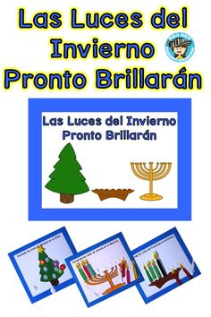 his e-book is short, has a lot of repetition and will get everyone involved. Read the book aloud while placing the candles and decorations on the book.This title has:1. Printable story: Las Luces del Invierno 2 Navidad craft            3. Kwanzaa craft 4.Janucá craft 5. A lot of fun!Happy