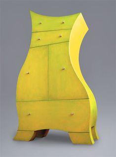 """""""Berthe"""" Whimsical Dresser by Alain Belanger"""