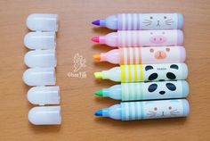 mini-stylo-papeterie-kawaii-colore-fluo-animal-magasin-boutique-en-ligne-chezfee-3
