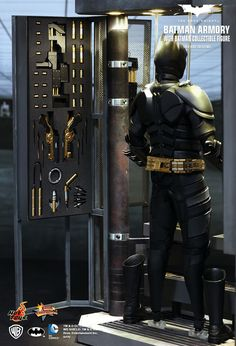 Batman Armory with Bruce Wayne & Alfred Pennyworth
