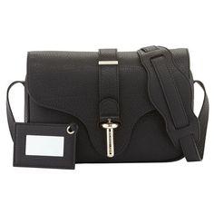Balenciaga Tube Shoulder Bag, Black