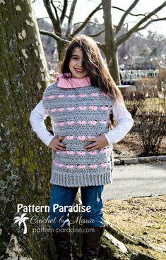 Free Crochet Pattern: Sweetheart Poncho | Pattern Paradise