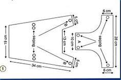 Resultado de imagem para medidas para roupinha de cachorro pinscher tamanho 1