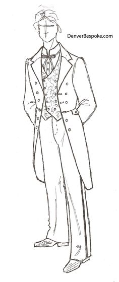 53 best menswear inspiration for denver bespoke images men s 1968 Fashion Clothing an outfit for a groom that we just sketched double breasted with angled buttons