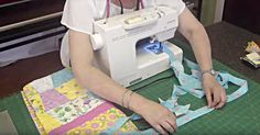 How To Bind A Quilt With A Sewing Machine!