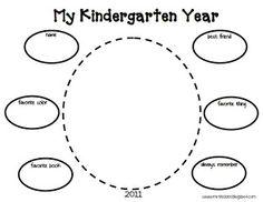 My Kindergarten Year (End of Year Freebie)