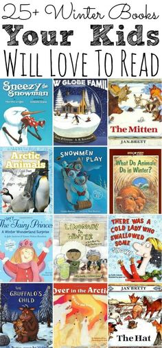 A list of 25+ Winter Books Your Kids Will Love To Read during the cooler months. Perfect for keeping the kids busy, while still enjoying the reading time. - simplytodaylife.com #winterbooks #kidsbooks #snowmanbooks #arcticbooks #booksforkids #bestkidsbooks #bestwinterbooks #winter #books #kids