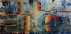 "Saatchi Online Artist April Zanne Johnson; Painting, ""Endorphin Spike"" #art"