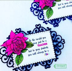 Handmade with Love: Coloring with Oil Pastels - Thank You Notes for Te...