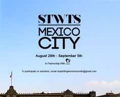 stoptellingwomentosmile:  stoptellingwomentosmile:   MEXICO CITY:For her first international residency, Tatyana Fazlalizadeh, in partnership with Fusion, will travel to Mexico City to produce new work featuring local women, the first trip outside of the country for STWTS that will be documented for a story on Fusion Digital. This is very exciting as it's Tatyana's first trip to work in person with women outside of the country.The week will kickoff with a group discussion with Mexico City…