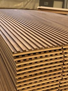 Machined panels / pannelli fresati - Best Picture For diy For Your Taste You are looking for something, and it is going to tell you ex - Wall Panel Design, Tv Wall Design, Ceiling Design, Door Design, Wood Slat Wall, Wood Slats, Wood Paneling, House Cladding, Timber Cladding