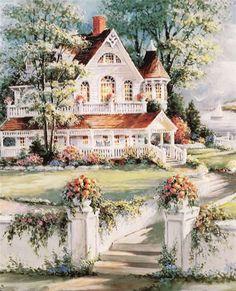 Victorian Home ~ George Bjorkland