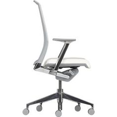 Haworth® Very™ White Task Chair in Office Chairs | Crate and Barrel