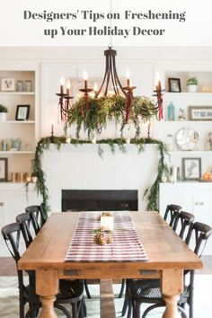 Designers Tips On Freshening Up Your Holiday Decor The Season Is In Full
