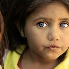 Syrian #refugee #child in the Bekaa Valley, #Lebanon.  Photo by Christian Kounjian