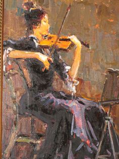 Adriaan Boshoff 1935 - 2007 - Love this one! Violin Art, South African Artists, Music Pictures, Art Music, Love Art, Old Photos, Musicians, Pray, Passion